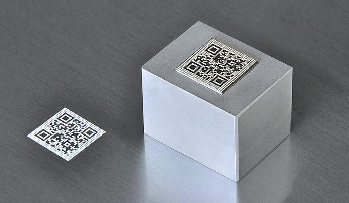 金属製品へのQRコードマーキング|浦谷商事